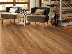 """Shaw Floors Classico Plank 5.83"""" Luxury Vinyl Tile Flooring Teak Sample"""