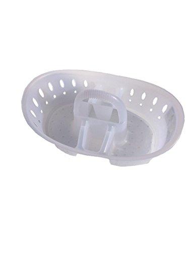 Sterilite White Oval Bath Caddy