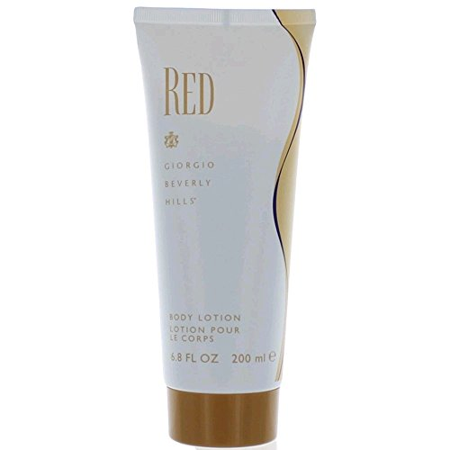 Red by Giorgio Beverly Hills for Women, Body Lotion, 6.7-Ounce