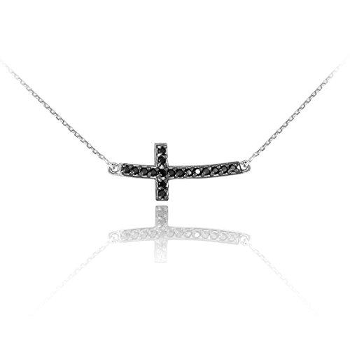 Curved Diamond Necklace - 4
