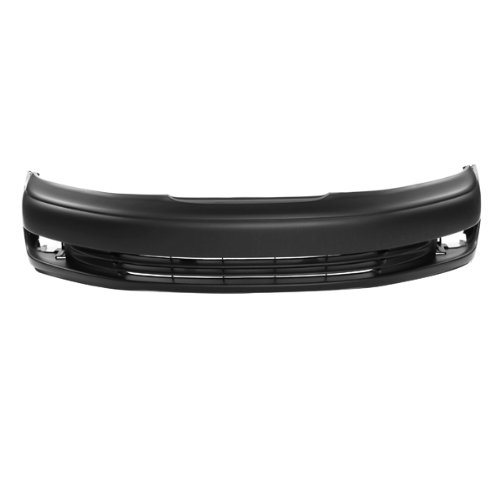 CarPartsDepot, Front Bumper Cover Replacement Primed Black w/Fog Lamp Holes, 352-291564-10-PM LX1000112 5211933913