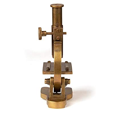 Historical Victorian Era Replica Vintage Brass Microscope Working Functional Prop: Camera & Photo