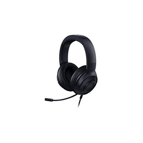 chollos oferta descuentos barato Razer Kraken X Auriculares para juegos auriculares ultraligeros para juegos para PC Mac Xbox One PS4 y Switch diadema acolchada sonido envolvente 7 1 negro