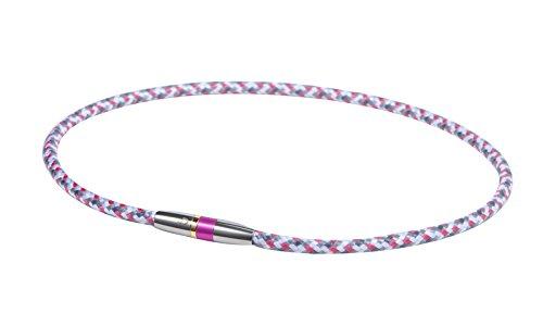 Phiten Rakuwa Neck X50 High-end III Pink 50cm 0211tg475453 (Arm Titanium Phiten)
