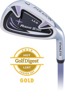Paragon Rising Star Girls Junior #7 Iron Ages 8-10 Lavender / Right-Hand - Iron Girl