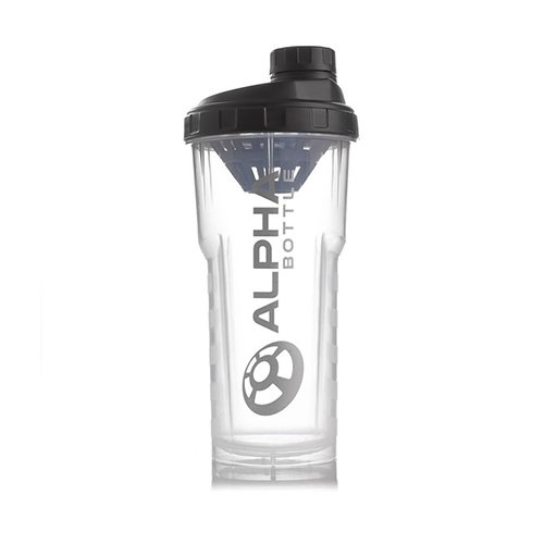 Alpha Bottle 25 Oz. no BPA or DEHP Protein Shaker - Green