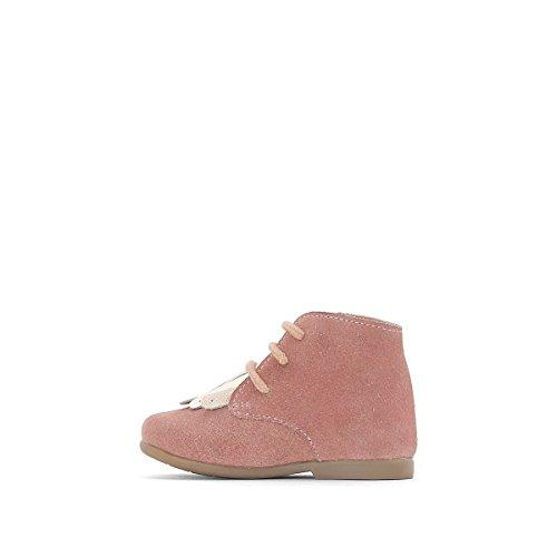 La Redoute Collections Boots mit Fransenpatte, Gr. 1925 Rosa