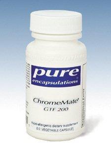 Pure Encapsulations Chromemate Gtf 200 60 Vcaps