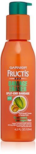 (Garnier Fructis Damage Eraser Split-End Bandage Leave-in Treatment for Distressed, Damaged hair, 4.2 fl oz)