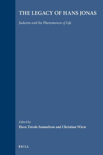 The Legacy of Hans Jonas: Judaism and the Phenomenon of Life (Jewish Phenomenon)