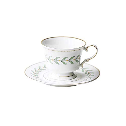 KLYHCHN Ceramic Espresso Cups with Saucers Coffee Cup and Saucer Set Mugs Small Handle Set Juice and Milk Tableware Home…
