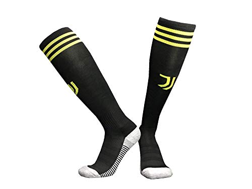 Manchester United Barcelona Juventus Real Madrid Liverpool Paris home and away soccer socks for Man (JJ-MAN-AWAY) (Real Men Madrid Socks For)
