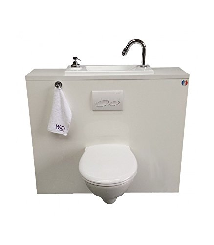 Wall Mounted Toilet With Integrated Basin Wici Frame