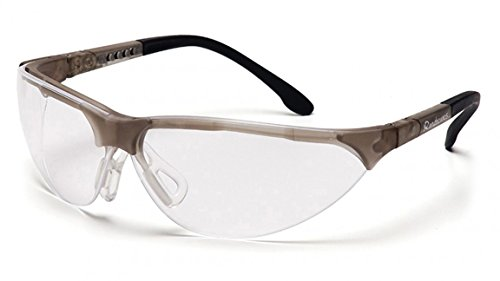 Pyramex Rendezvous Glasses Crystal Gray Frame/Clear Anti-Fo