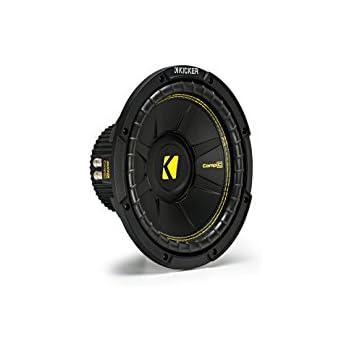 """Amazon.com: Kicker CWCD104 CompC 10"""" Subwoofer Dual Voice"""