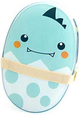 Fiambreras y botellas de agua Bento Box Cartoon Japonesa Fiambrera Infantil Caja de Fruta Caja de bocadillos microondas Linda Fiambrera con Tenedor Cuchara (Color : Green, Size : 15 * 15 * 8cm): Amazon.es: Hogar