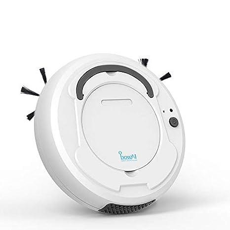 TEEPAO 3 en 1 Robot Aspirador Fregasuelos y Barrendero Inteligente, Diseño para la Limpieza del