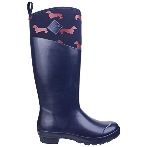 Red Navy Tremont Muck Womens Boots Wellies Dogs Tall SYwRfwq