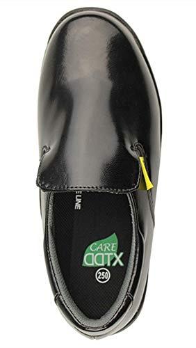 DDTX Men's Slip and Oil Resistant Slip-on Work Shoes Black (9.5) by DDTX (Image #3)
