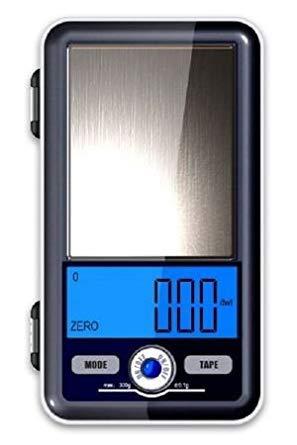 Promoción - Báscula de bolsillo alta precisión (mide hasta centésimas de gramo, oro, quilates 500 G x 0,01 G: Amazon.es: Grandes electrodomésticos