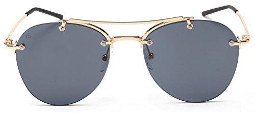 "63d037b24ecf PRIVÉ REVAUX ""The Dutchess"" Handcrafted Designer Aviator Sunglasses For  Women"
