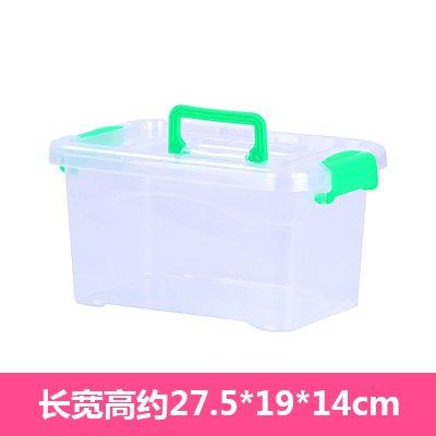 CWAIXX Caja de plástico transparente base de cama tamaño Queen montado Cajas armario ropa juguete almacenamiento caja cesta Cjas, Necesidad de comprar el ...