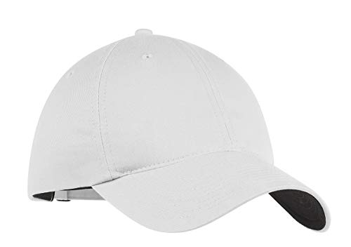 Nike Golf - Unstructured Twill Cap , 580087, White, No Size