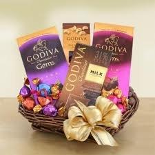 Godiva Godiva Dazzler Chocolate Gift Basket