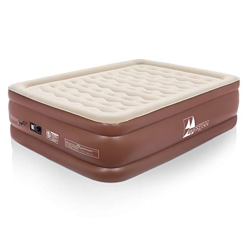 Missyee Inflatable Queen Air Mattress with Built-in