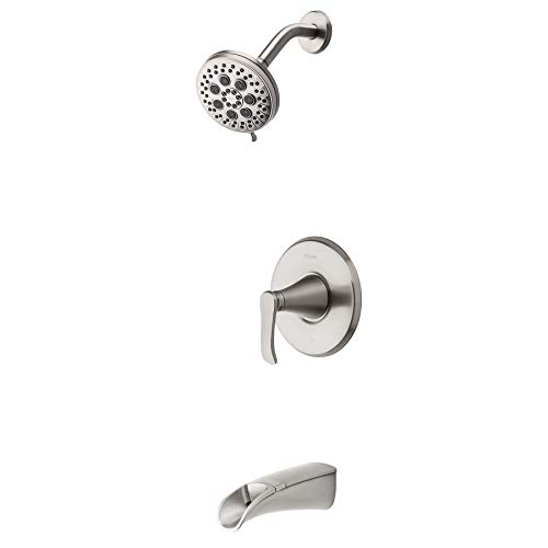 - Pfister 8P8-WS2-JDSGS Jaida Tub and Shower Faucet, Spot Defense Brushed Nickel