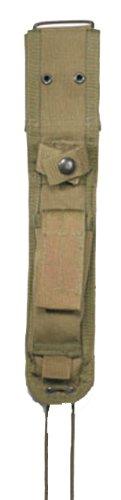 Nylon Knife Green - Rothco G.I. Type Enhanced Nylon Knife Sheath, OD Green