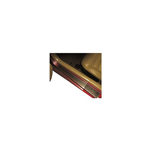 Eckler's Premier Quality Products 25-108025 Corvette Sill Protectors, Clear Without Letters, Sill Ease