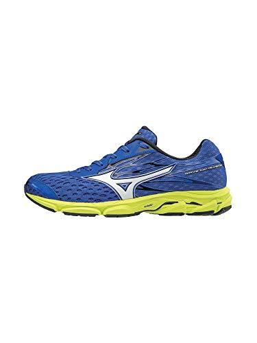 Mizuno Wave Catalyst 2 Men's Running Shoes, Dazzling Blue/White, 9.5 D US from Mizuno