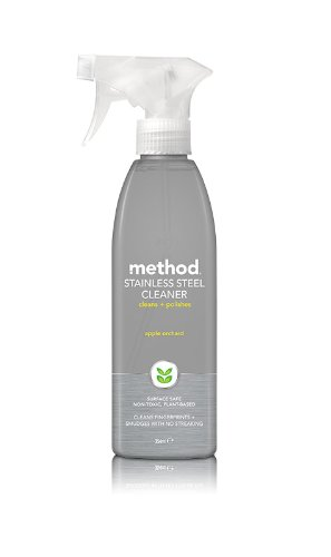 Method Stainless Steel for Real Surface Cleaner 345 ml