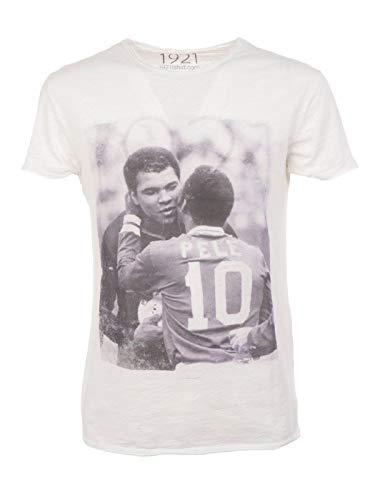 Coton 1921soccer08 shirt T Blanc Homme 1921 waCxqU00