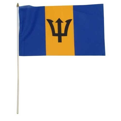 - US Flag Store Barbados Flag 12 x 18 inch