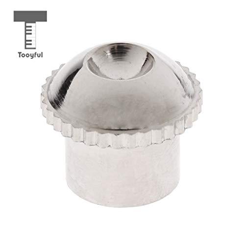 (Value-5-Star - Nickel Plated Piccolo Head Crown Headjoint Screw Cap Piccolo Repair Parts)