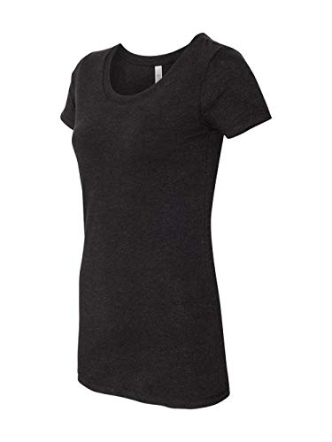 Bella Ladies' Cameron Tri-Blend Short Sleeve T-Shirt. 8413 - X-Large - Charcoal Heather