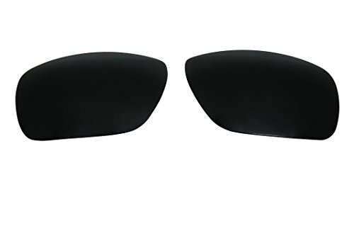 Polarized Replacement Sunglasses Lenses for Oakley Dispatch I with UV Protection(Black) by C.D
