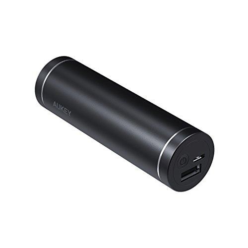 AUKEY Batería Externa de 5000 mAh, Cargadores portátiles compactos, Cargador de batería para iPhone X/8 Plus, Samsung S9…