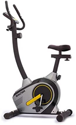SALTER Bicicleta magnética Ever PT-0077, mínimo Espacio, con Marcador Digital y sensores de Pulso, ámbito doméstico sin limitación de Horas de Uso.: Amazon.es: Deportes y aire libre