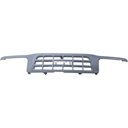 Grille 98-99 For Isuzu Rodeo Amigo Primed Fits 4-CyL And 6Cyl