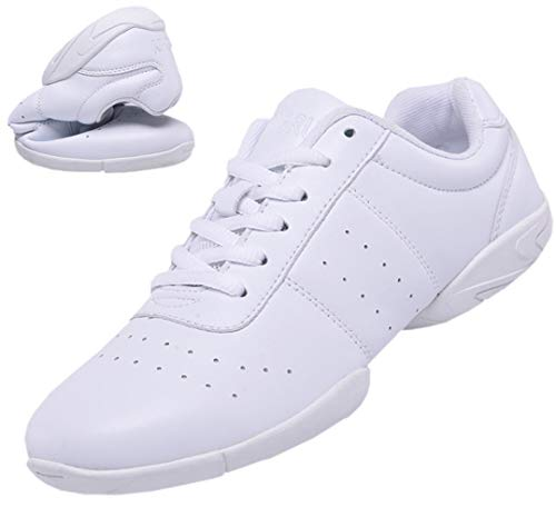 DADAWEN Women's Sport Training Cheerleading Shoes