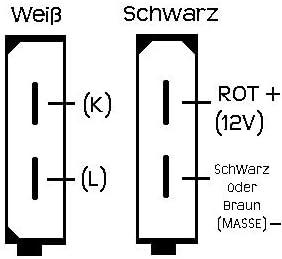 AutoDia 2x2 Adapter lila f/ür Diagnose Interface Scanner OBD 2 OBD2 VAG VW Audi Seat