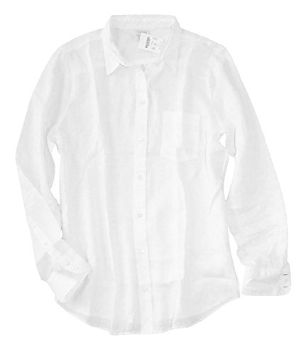 J crew j crew factory women 39 s boy fit crisp white for Womens white button down shirt