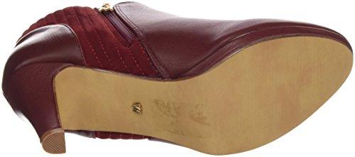 Maria Mare Damen Basic Calzado Señora Geschlossene Schuhe mit Absatz NAPAL BURDEOS / PEACH BURDEOS