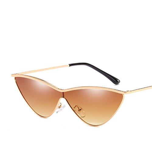 Femenina Sol Metálico Moda Bastidor Triángulo Gafas Sol C2 KLXEB De De Gafas Mujer Uv400 Gafas Pequeño C9 La De Color De qTppX7Pw