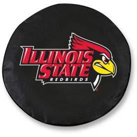 Illinois State University Black Tire Cover-TCSMILLSTUBK (TCSMILLSTUBK)