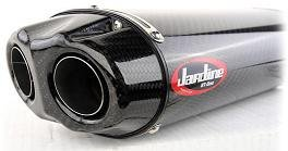 - Jardine 18-1017-524-02 Carbon Dual Outlet Slip-On Exhaust
