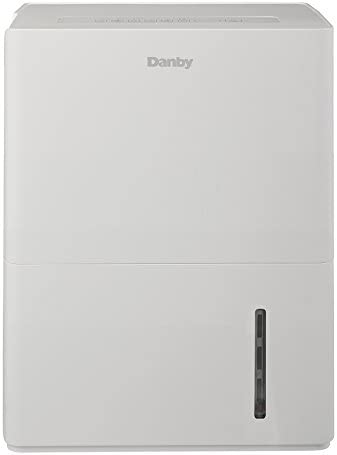 Danby 70 Pint Dehumidifier, White